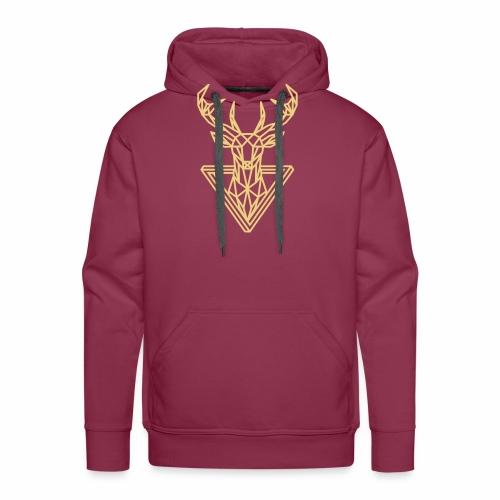 Cerf de noël - Sweat-shirt à capuche Premium pour hommes