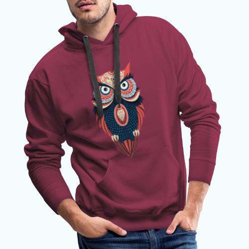 Hippie owl - Men's Premium Hoodie