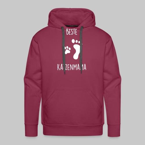 Beste Katzenmama - Männer Premium Hoodie