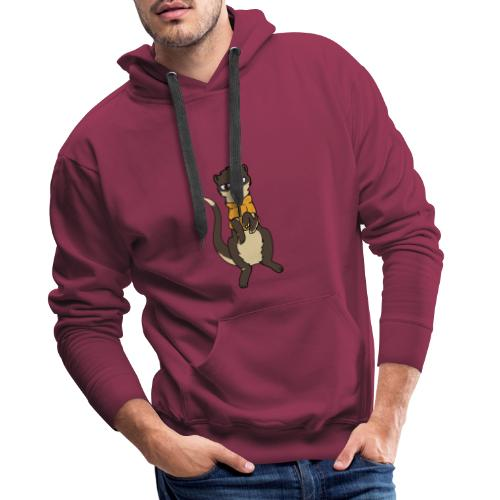 fretka Hypsed - Bluza męska Premium z kapturem