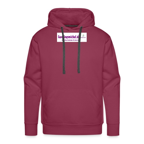banner faschingsmicheljeder anlass - Männer Premium Hoodie