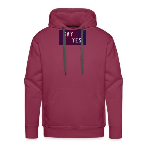 S A Y Y E S - Men's Premium Hoodie