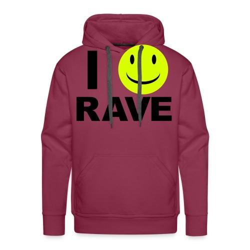 I :D rave - Men's Premium Hoodie