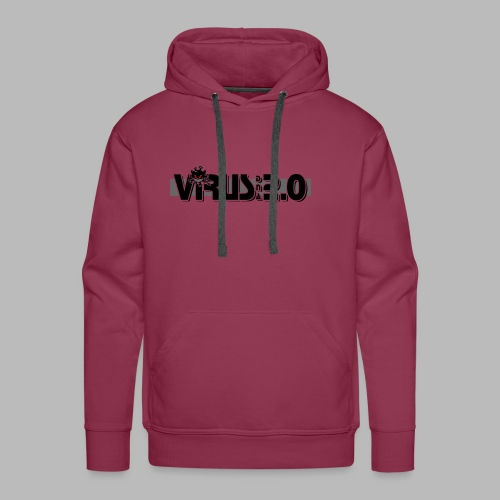 VIRUS 2.0 - Sweat-shirt à capuche Premium pour hommes
