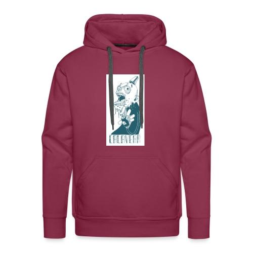 La calavera - Sudadera con capucha premium para hombre
