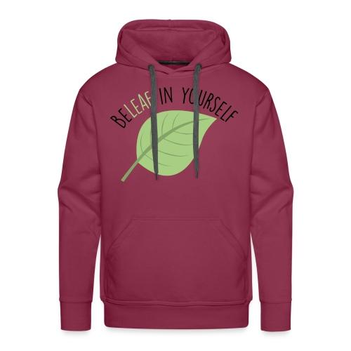 Beleaf In Yourself - Mannen Premium hoodie