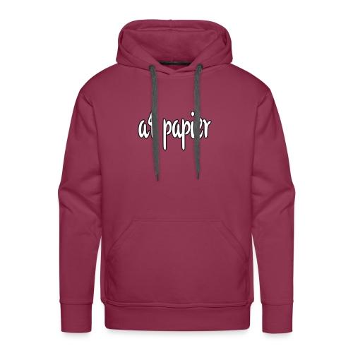 A4Papier - Mannen Premium hoodie