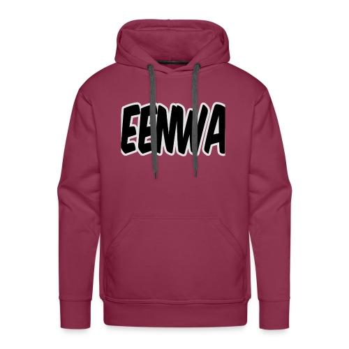 EENWA T-shirt - Mannen Premium hoodie