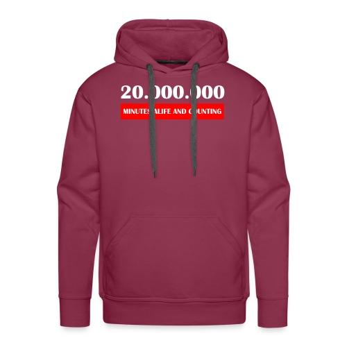 200000 Minutes Alive - Männer Premium Hoodie