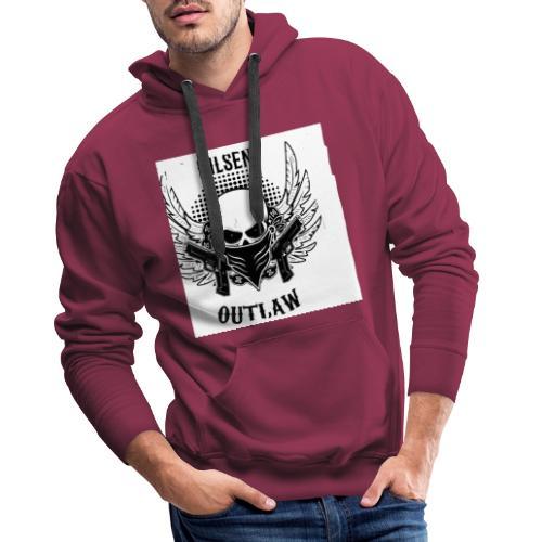 Nilsen Outlaw Head - Men's Premium Hoodie