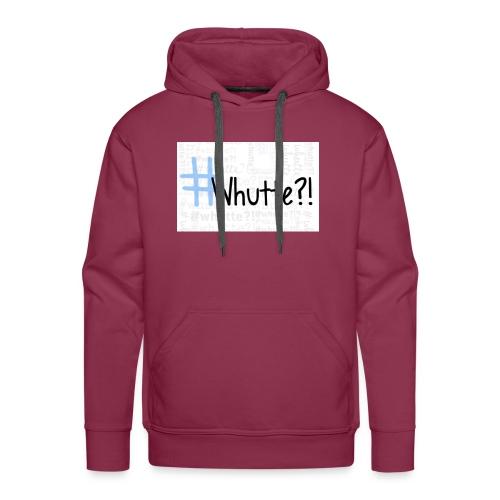 #whutte merchandise - Mannen Premium hoodie