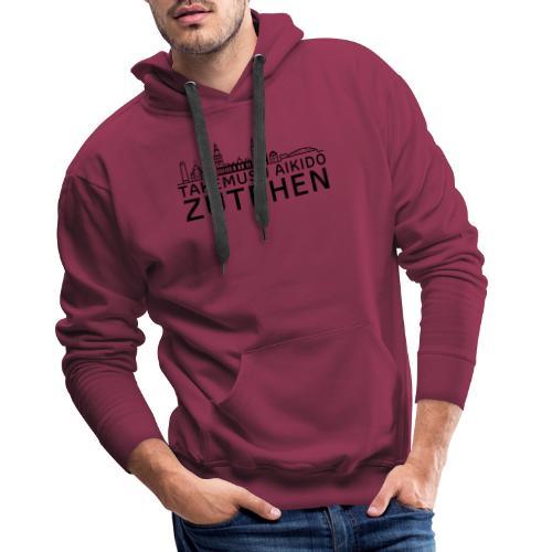stadsgezicht Zutphen - Mannen Premium hoodie