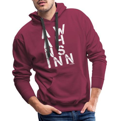 HazyShirt03awahnsinninv - Männer Premium Hoodie