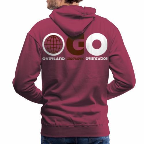 OGO-21 - Sweat-shirt à capuche Premium pour hommes