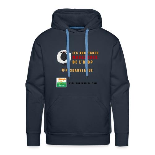 aid - Sweat-shirt à capuche Premium pour hommes