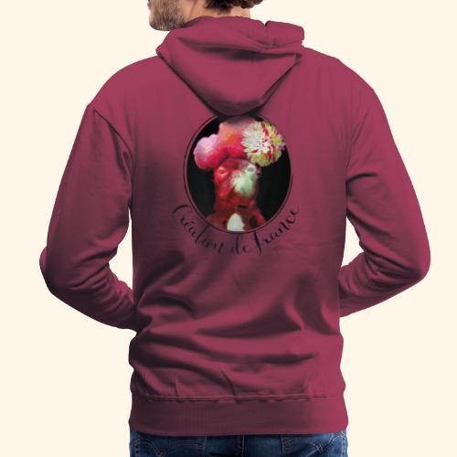Création de France - Sweat-shirt à capuche Premium pour hommes