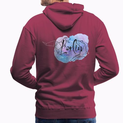 logo LORLIN - Sweat-shirt à capuche Premium pour hommes