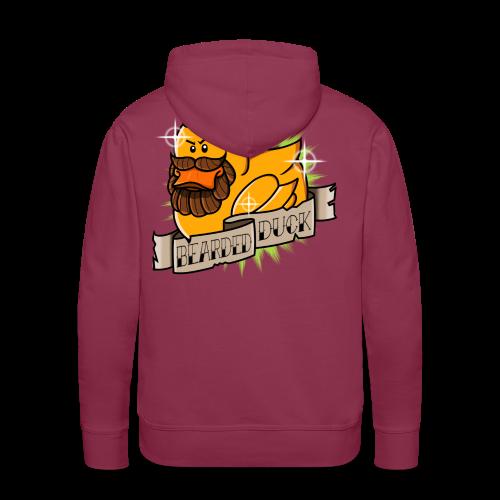 Bearded Duck - Sweat-shirt à capuche Premium pour hommes