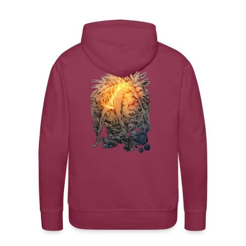 Éclatement - Sweat-shirt à capuche Premium pour hommes