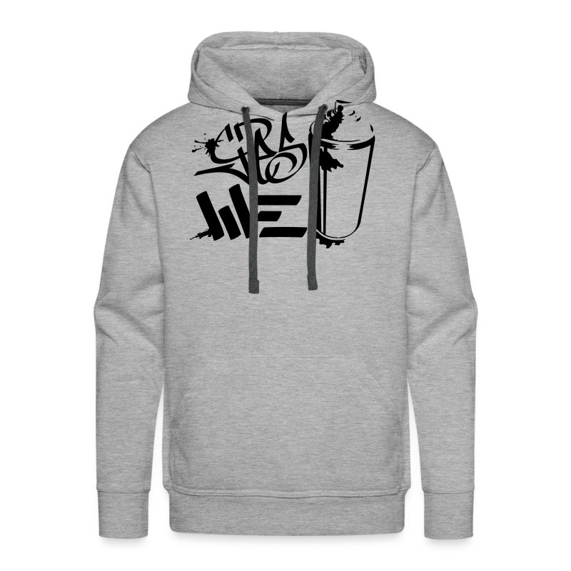Yes We (spray)Can Graffiti handstyle tag - Männer Premium Hoodie