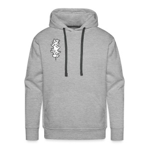 Black and White - Männer Premium Hoodie