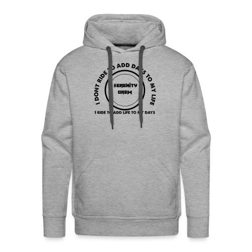 Serenity Crew Rider Quote - Men's Premium Hoodie