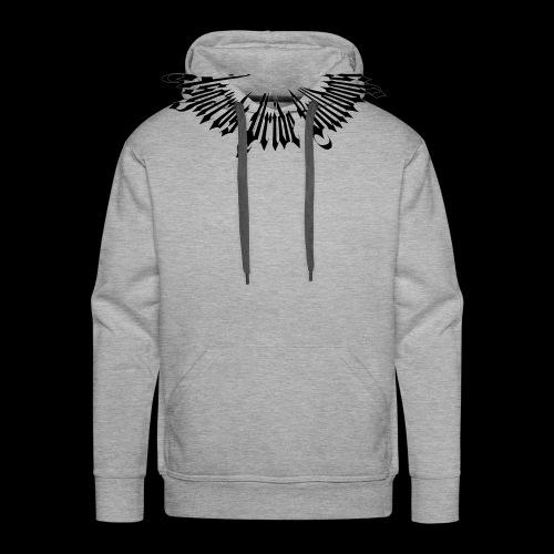 Stachelhalsband Schwarz - Männer Premium Hoodie