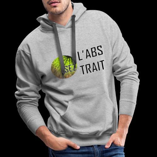 Osez l'Abstrait - Angelo'S - Sweat-shirt à capuche Premium pour hommes