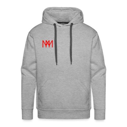 MOTO MOBSTER LOGO ROT - Männer Premium Hoodie