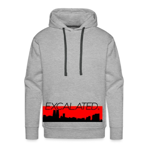 Excalated Skyline - Männer Premium Hoodie