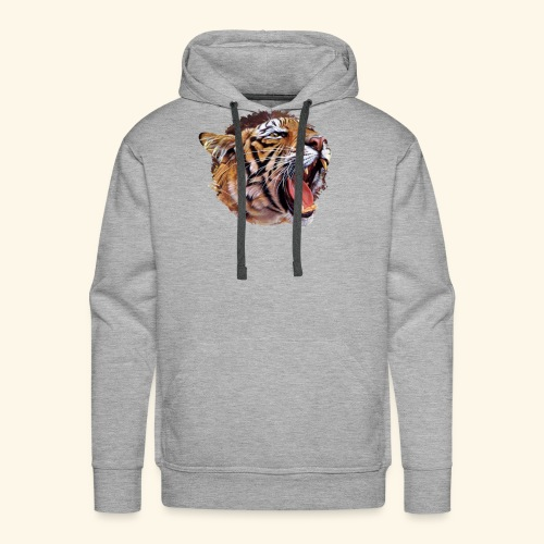 BOB LE TIGRE - Sweat-shirt à capuche Premium pour hommes
