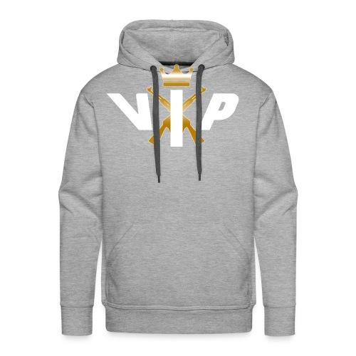 V.I.P White - Männer Premium Hoodie