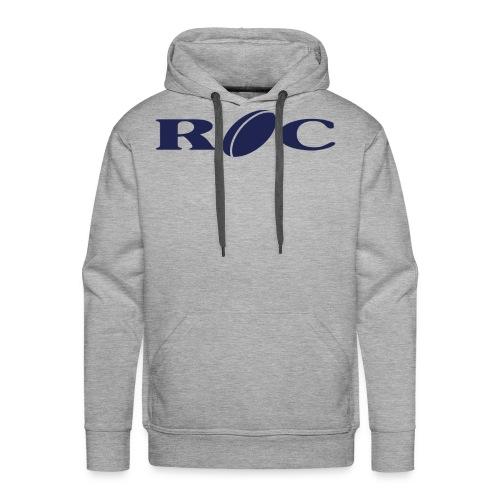 ROC-bleu - Sweat-shirt à capuche Premium pour hommes