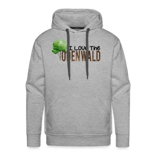 I Love The Odenwald - Männer Premium Hoodie