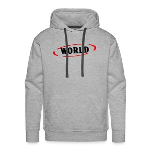World Vibes - Sweat-shirt à capuche Premium pour hommes