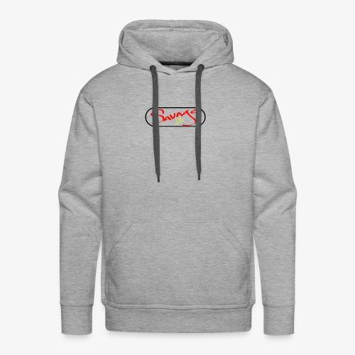 Savage Life - Sudadera con capucha premium para hombre