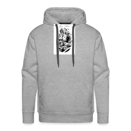 Religious tattoo - Sweat-shirt à capuche Premium pour hommes