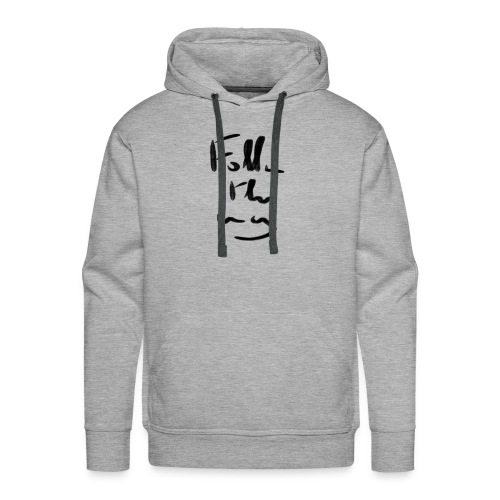 Follow the Way - Sweat-shirt à capuche Premium pour hommes