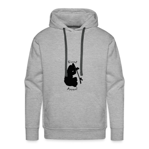 black bored apparel logo - Men's Premium Hoodie
