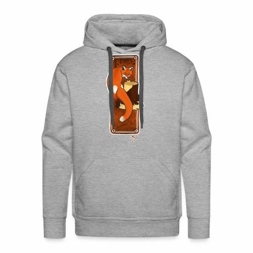 histoire de forêt - Sweat-shirt à capuche Premium pour hommes
