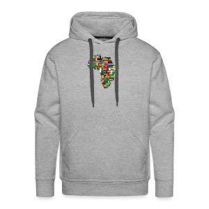 mama africa - Sweat-shirt à capuche Premium pour hommes
