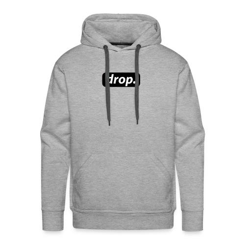 T-shirt basique DROP - Sweat-shirt à capuche Premium pour hommes