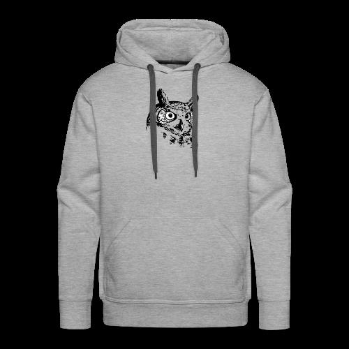 Artist Owl - Men's Premium Hoodie