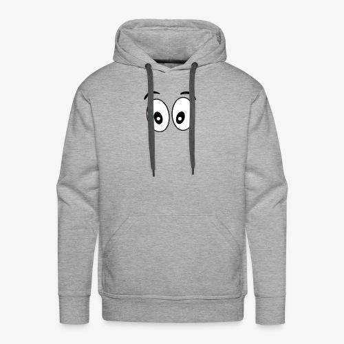 wide eye 1 - Men's Premium Hoodie