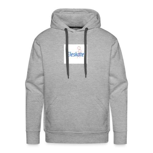 Eleskate - Sweat-shirt à capuche Premium pour hommes