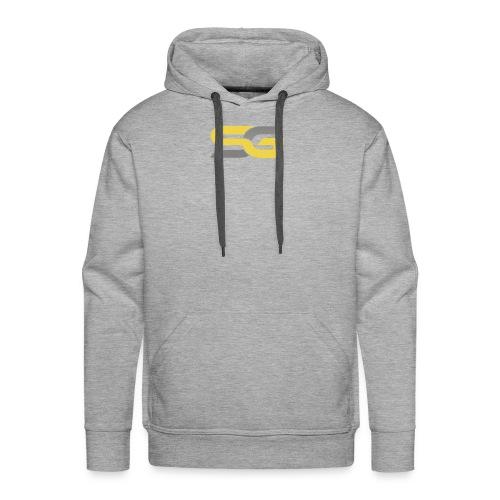 SibertGamer T-Shirt bleu - Mannen Premium hoodie