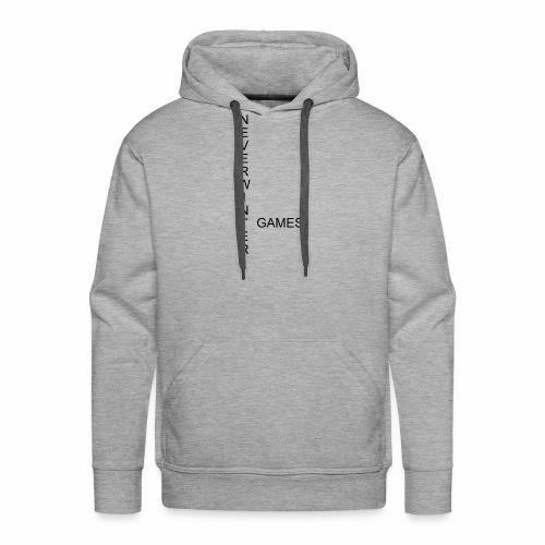Neverwinter Games T-Shirt Schrift Schwarz - Männer Premium Hoodie