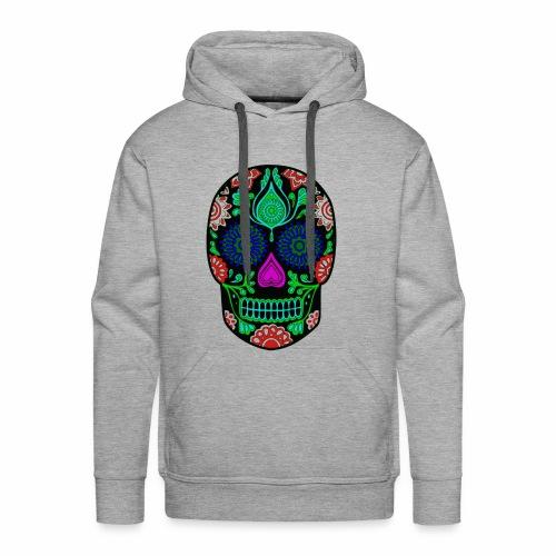 mexican skull - Mannen Premium hoodie