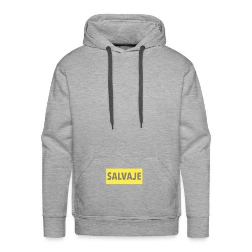 SALVAJE - Sudadera con capucha premium para hombre