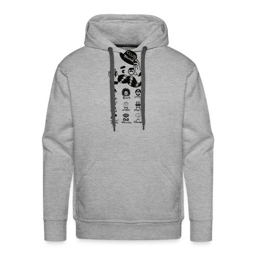 CLUB MOUSTACHE - Männer Premium Hoodie